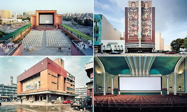 The world's most fascinating cinemas, from Los Angeles to Egypt, photographed by Stephan Zaubitzer | Daily Mail Online