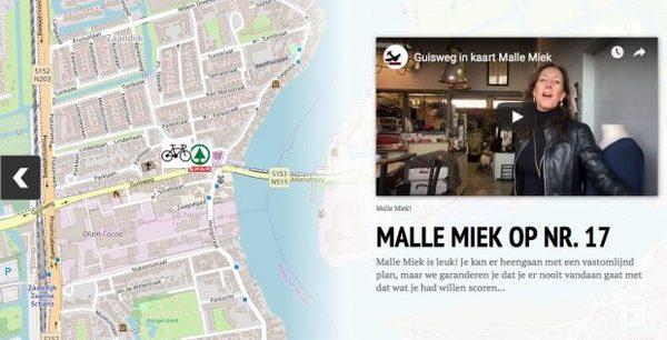 Guisweg Zaandijk op de kaart: Malle Miek van nr. 17 | De Orkaan