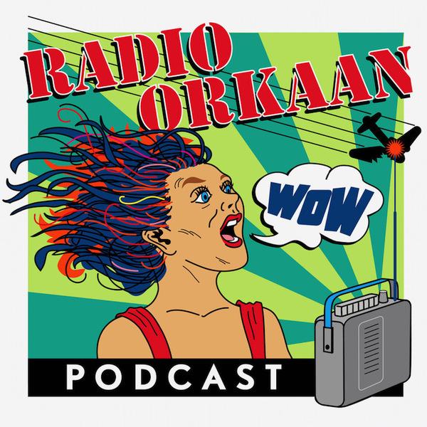 klik op het vliegtuig om bij Radio Orkaan te komen.