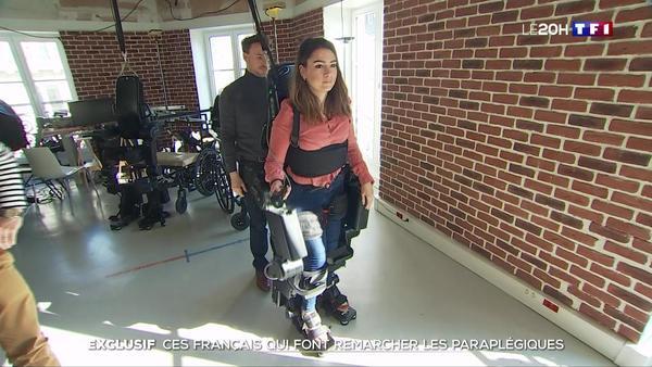 Exclusif : Wandercraft fait remarcher les paraplégiques