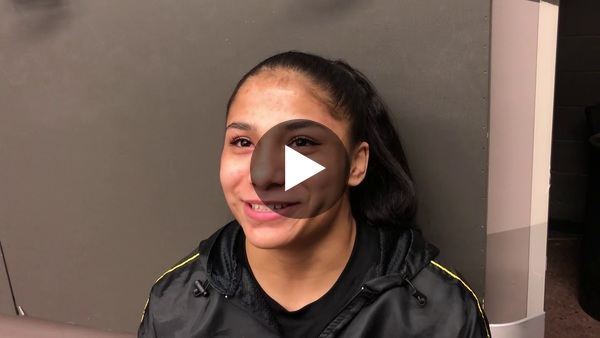 Angel Rios discusses her matches throughout the tournament, what it means to her to make history and what's in store for next year.