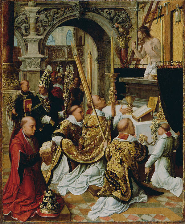 The Mass of St. Gregory the Great