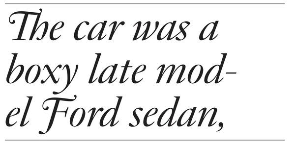 JJanon Italic
