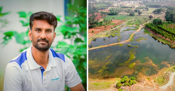 Bengaluru techie revives lake single-handedly