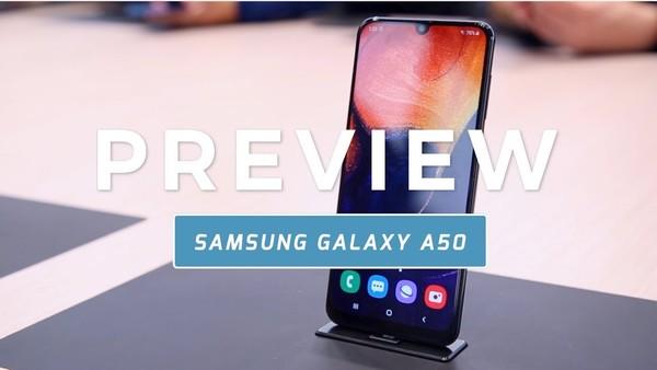 Samsung Galaxy A50 preview (Dutch)