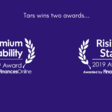 Tars Wins FinancesOnline's 2019 Rising Star and Premium Usability Awards