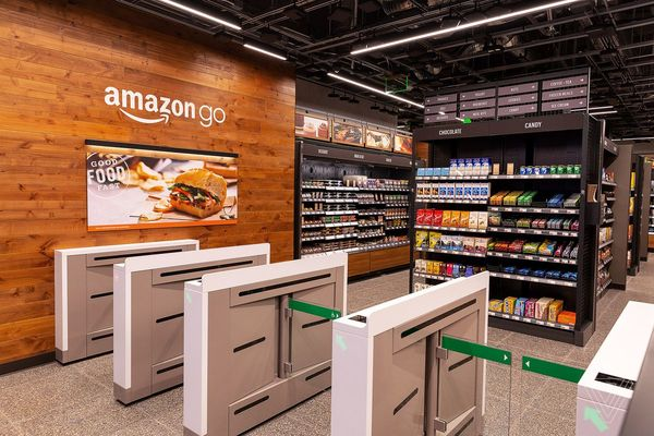 Amazon Go in San Francisco, CA, US