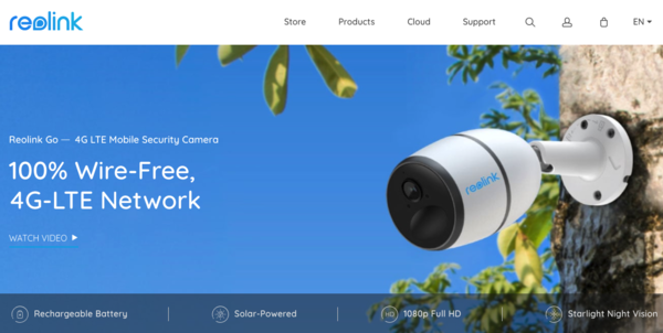 Reolink 4G-LTE wireless HD camera