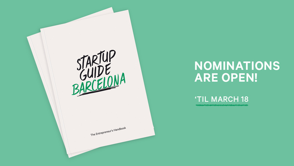 Know an inspiring startup, founder, space, school or program in Barcelona? Nominate them now so they can be featured in the upcoming handbook!