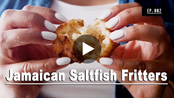How to Make Jamaican Saltfish Fritters | **Recipe Video**