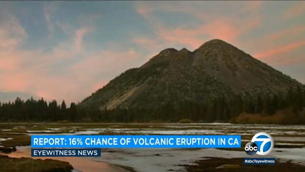 California has 16 percent chance of volcanic eruption | abc30.com