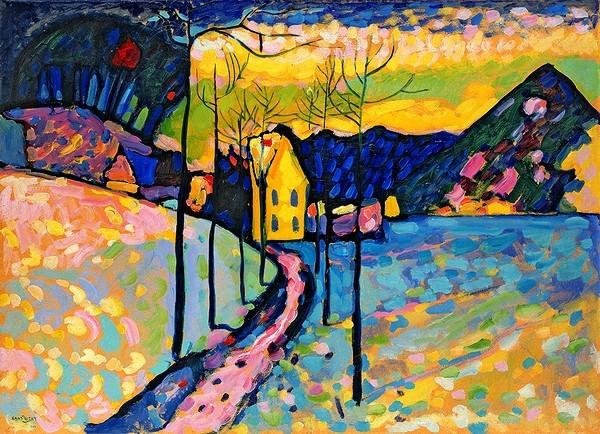 """Kandinsky's """"Winter Landscape"""", 1911"""