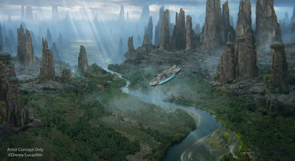 How Disney Built Star Wars, in real life