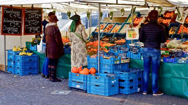 Vrije markt.