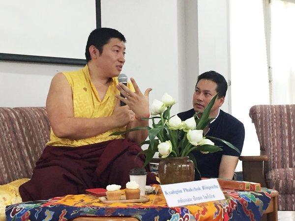 Phakchok Rinpoche in Thailand