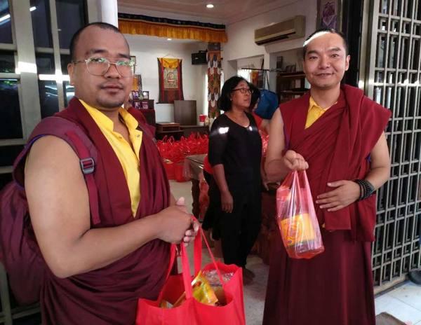 The 8th annual CNY charity distribution, RY Perak, Malaysia