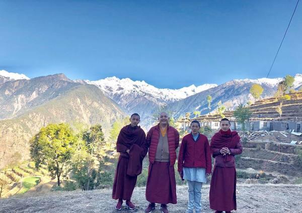 Khenpo Gyaltsen in Botang village