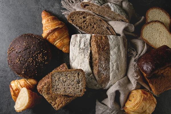 Door brood eet je best veel zout.