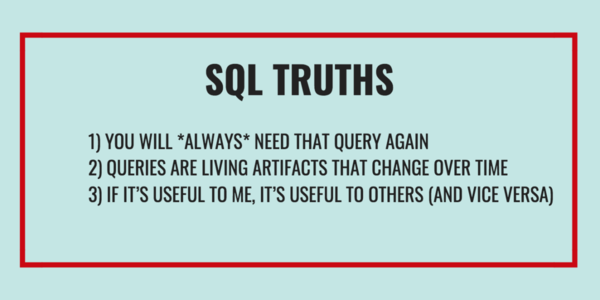 Git Your SQL Together (with a Query Library)