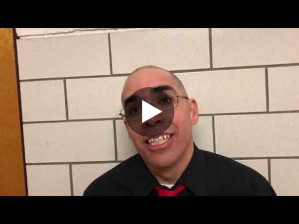 Eaton's coach Todd Hernandez talks about staying composed, getting away from their style of play, the reason for the full-court press and thoughts on moving to the Round of 8.