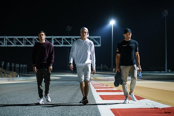 Left to Right: Rinat, Denis, David. 2019 Rinaldi Racing Team Mates.