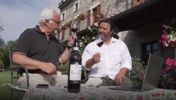 Patrizio Roversi e Paolo Carlo Ghislandi