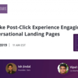 [Webinar] How To Make Post-Click Experience Engaging With Conversational Landing Pages