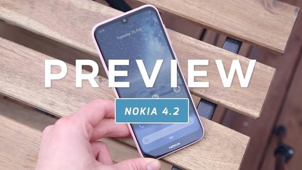 Nokia 4.2 preview (Dutch)