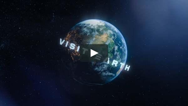 1. Come visit planet earth!