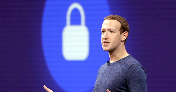 Facebook's Mark Zuckerberg Says He'll Shift Focus to Users' Privacy