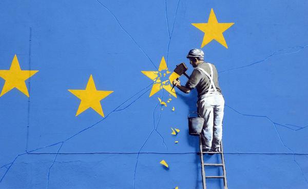 Banksy doet Brexit