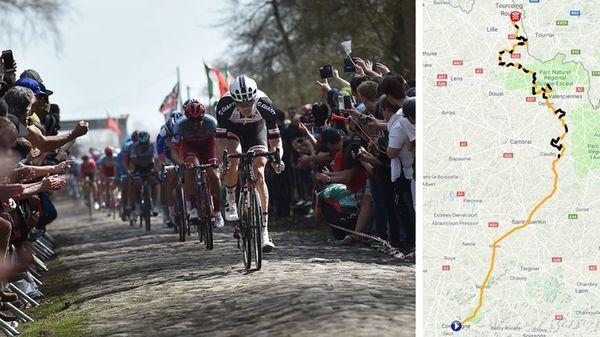 Paris Roubaix 2019 : découvrez le parcours de la course cycliste - Parijs Roubaix 2019: verken traject wedstrijd