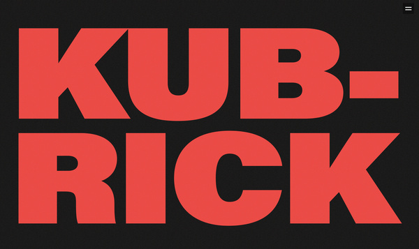 Work and life of Stanley Kubrick