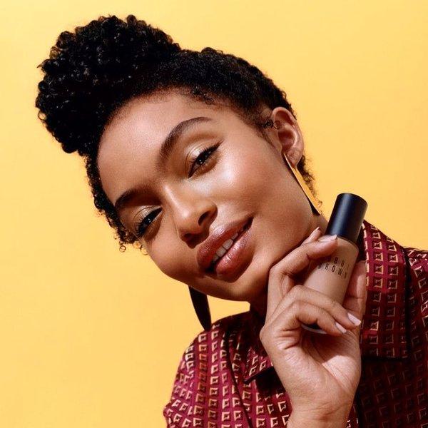 Say hello to the new face of Bobby Brown cosmetics, Yara  Shahidi