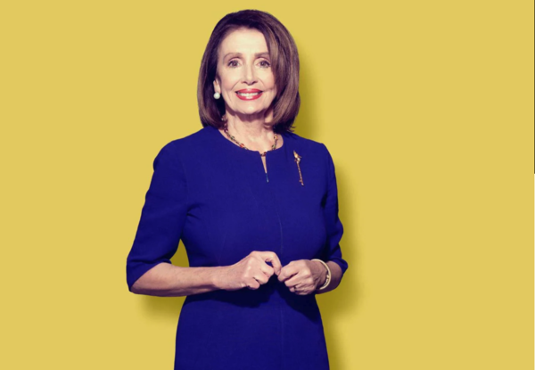 De Democratische leider Nancy Pelosi