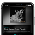TIDAL adds master quality audio to its iPhone app