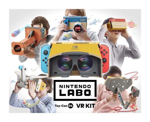 Nintendo announces VR kit for the Switch