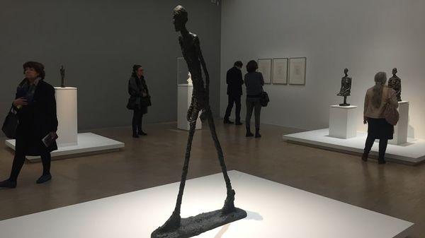 """L'exposition """"Alberto Giacometti"""" ouvre ses portes au LaM de Villeneuve-d'Ascq - Tentoonstelling Alberto Giacometti van start in LaM in Villeneuve-d'Ascq"""