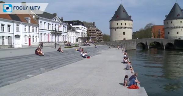L'aménagement des rives de la Lys à Courtrai récompensé - Prijs voor verlaagde Leieboorden Kortrijk