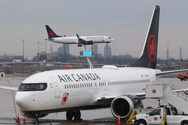Canada Air heeft dertien Boeings 737 MAX aan de grond gehouden (foto: Reuters)
