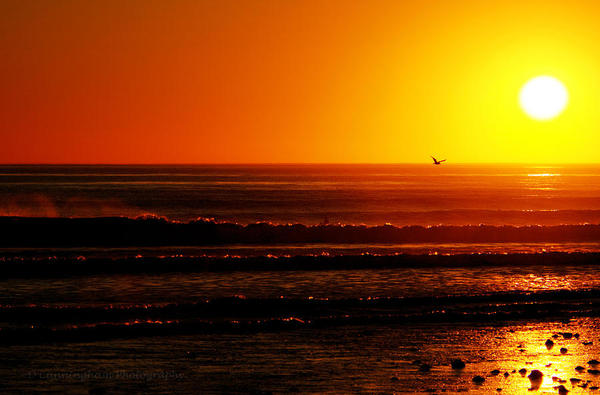 Typical California Sunset from Fine Art America