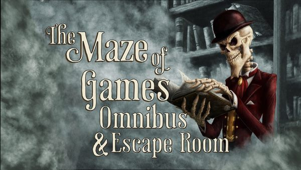 The Maze of Games Omnibus and Escape Room Experience by Lone Shark Games — Kickstarter