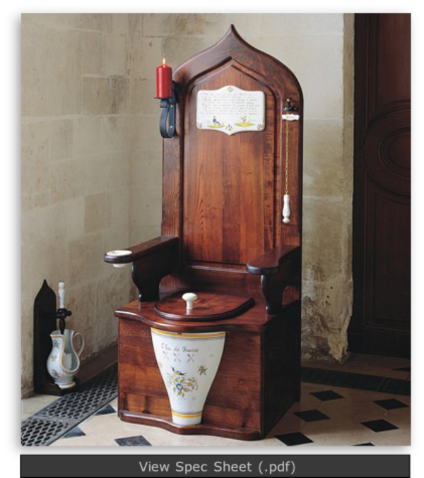 Dagobert Toilet Throne