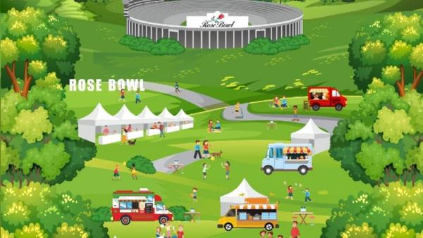 New Food Truck Fest Debuting at the Rose Bowl - NBC Southern California
