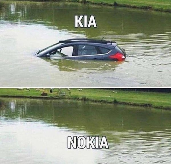 Pretty accurate description of NOKIA - Credit: Reddit/u/StathisStGr
