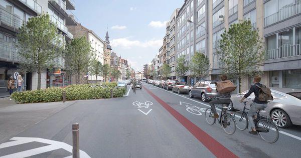 Le centre ville de Courtrai livré aux cyclistes - Binnenstad Kortrijk wordt fietszone vanaf juli.