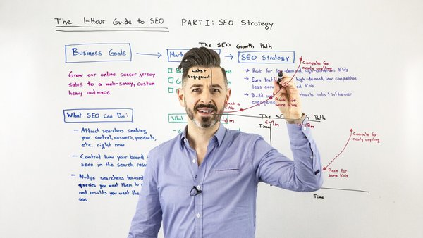 The One-Hour Guide to SEO, Part 1: SEO Strategy - Whiteboard Friday - Moz