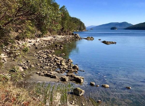 Bennett Bay, Mayne Island BC