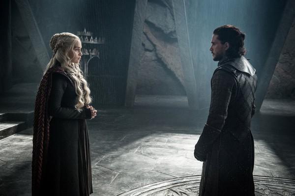 La historia de: Daenerys y Jon, el Fuego y el Hielo de 'Juego de tronos'