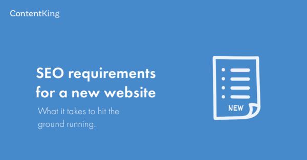 SEO vereisten voor nieuwe websites in 2019: de ultieme handleiding